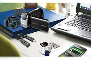 support various memory cards