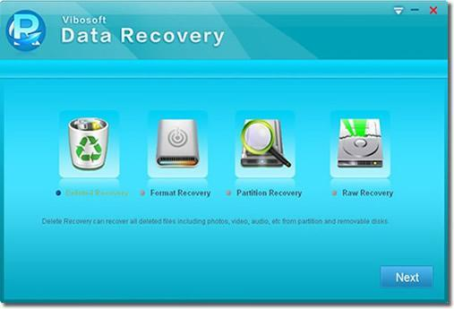 Install and launch data recovery and scan your data.