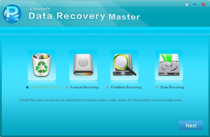 Vibosoft Data Recovery for Windows full screenshot