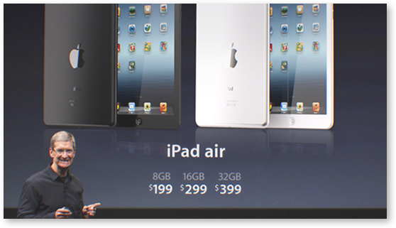 Apple iPad Air price