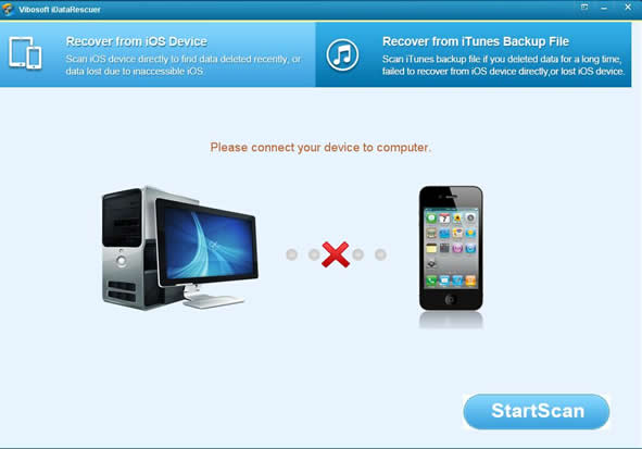 install vibosoft iphone contacts recovery tool