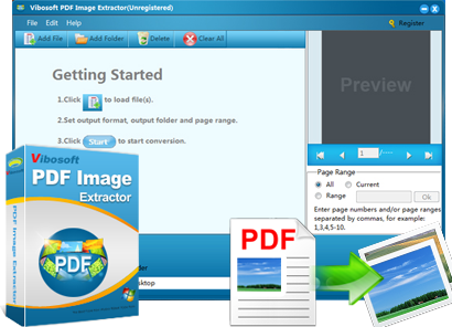 PDF Image Extractor Feature